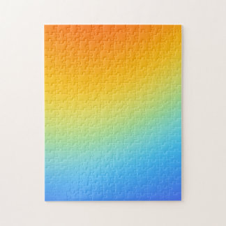 rainbow colours jig saw puzzle