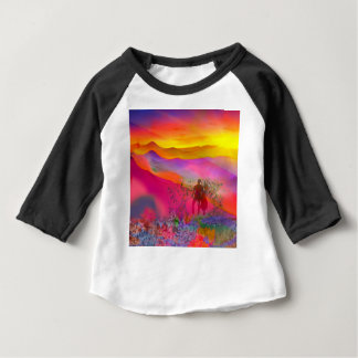 Rainbow colours show all at once. baby T-Shirt