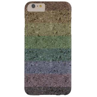 Rainbow Concrete Coated iPhone 6 Plus Case