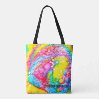Rainbow Cookie Tote Bag