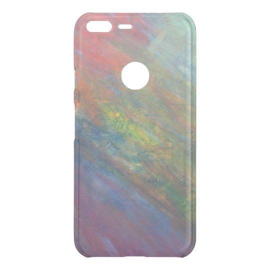 Rainbow   Cool Colourful Abstract Psychedelic Uncommon Google Pixel XL Case