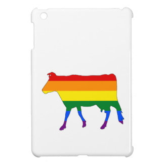 Rainbow Cow iPad Mini Cover