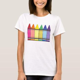 Rainbow Crayons Tee Shirt