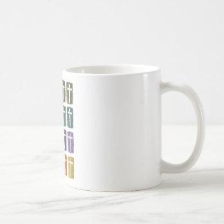 Rainbow crosses mugs