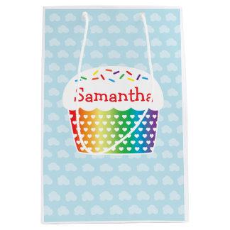 Rainbow Cupcake Gift Bag