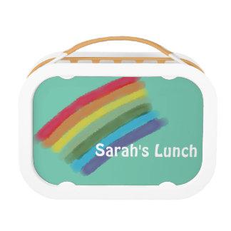 Rainbow Custom Lunch Box for Kids