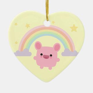 Rainbow Cutie Ornament