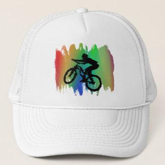 Rainbow Cycling Hat