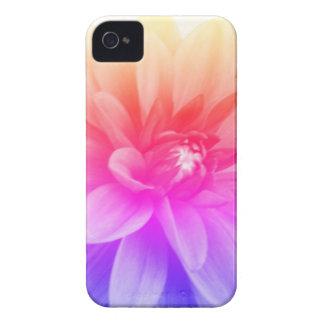 Rainbow Dahlia Case-Mate iPhone 4 Cases