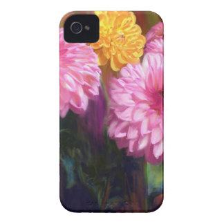 Rainbow Dahlias Case-Mate iPhone 4 Case