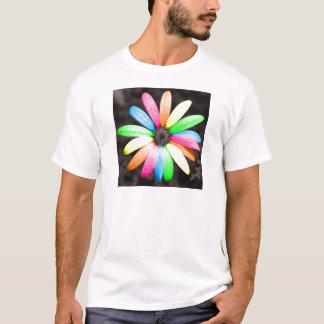 Rainbow daisy flower T-Shirt
