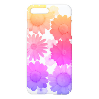 Rainbow Daisy Flowers Artsy Photography iPhone 8 Plus/7 Plus Case