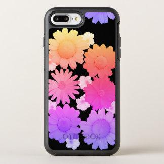 Rainbow Daisy Flowers Artsy Photography OtterBox Symmetry iPhone 7 Plus Case