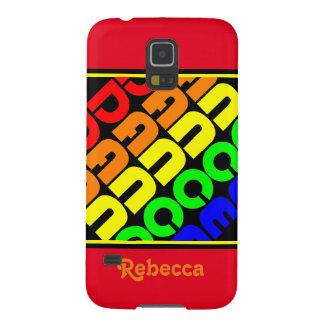 Rainbow Dance Galaxy S5 Covers
