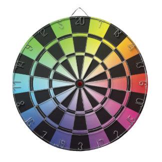 Rainbow Dartboard 3