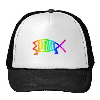 Rainbow Darwin Fish Cap
