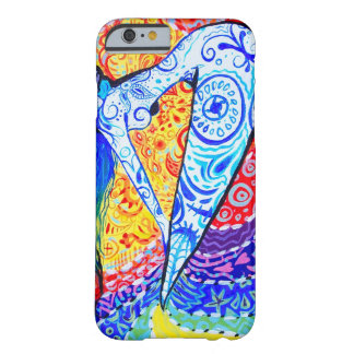 Rainbow Day of the Dead Mermaid Barely There iPhone 6 Case