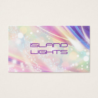 rainbow dazzle business card