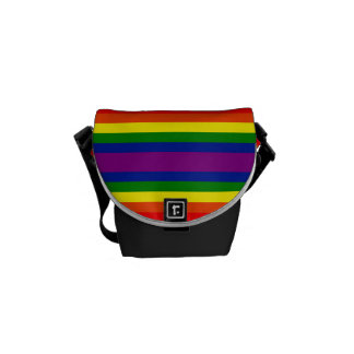 Rainbow Decal Commuter Bag