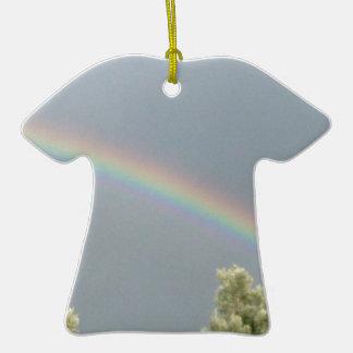 rainbow christmas tree ornament