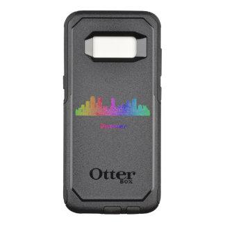 Rainbow Denver skyline OtterBox Commuter Samsung Galaxy S8 Case