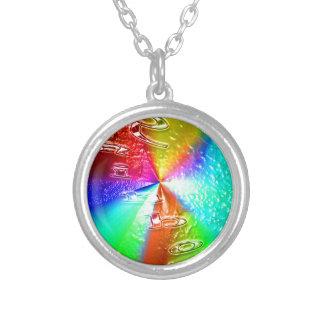 rainbow design pendants