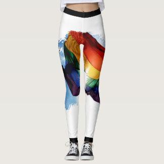 Rainbow designed Leggings
