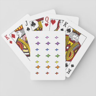 Rainbow Diamond Playing Cards