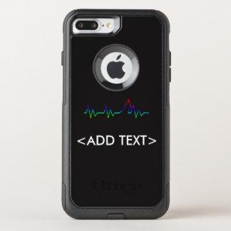 Rainbow Dog Heartbeat OtterBox Commuter iPhone 7 Plus Case