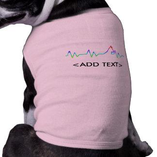 Rainbow Dog Heartbeat Shirt