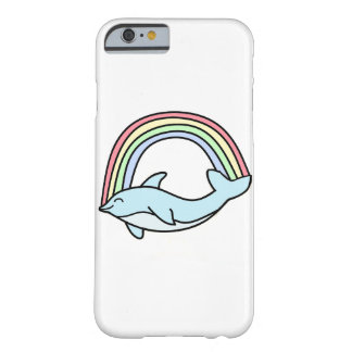 Rainbow Dolphin iPhone 6 Case