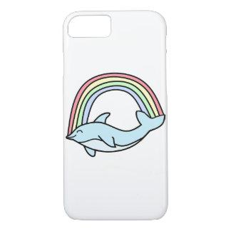 Rainbow Dolphin iPhone 7 Case