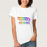 Rainbow Dolphins T-shirts