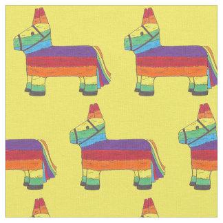 Rainbow Donkey Piñata Birthday Party Fiesta Pride Fabric