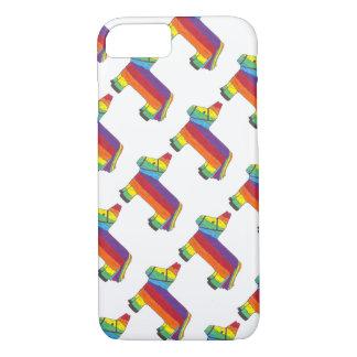 Rainbow Donkey Piñata Cinco de Mayo Pride Fiesta iPhone 8/7 Case