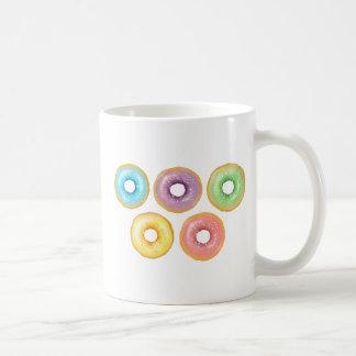 Rainbow Donuts Coffee Mug