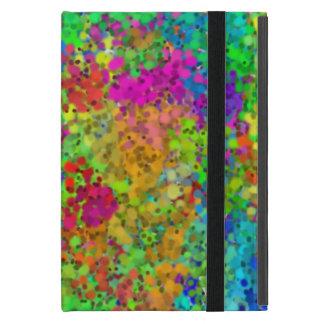 Rainbow Dots Cover For iPad Mini