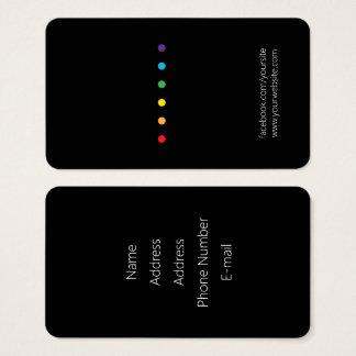 Rainbow Dots LGBT Pride Business Card