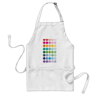 rainbow dots standard apron