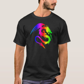 Rainbow Dragon 4 T-Shirt