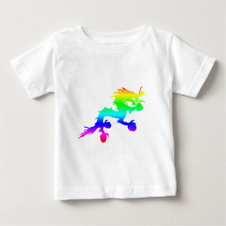 Rainbow Dragon Baby T-Shirt