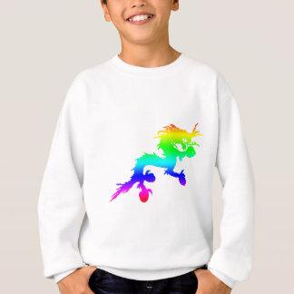 rainbow dragon sweatshirt