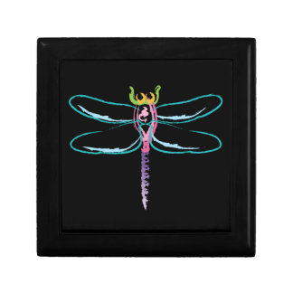 Rainbow Dragonfly Gift Box