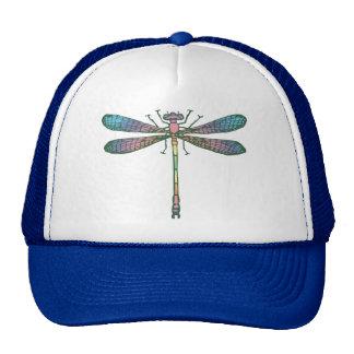 Rainbow Dragonfly Mesh Hats