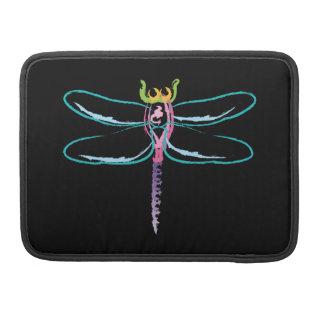 Rainbow Dragonfly Sleeve For MacBooks