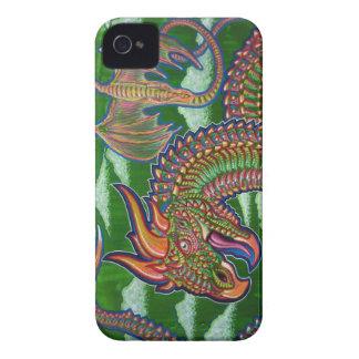 Rainbow Dragons Blackberry Case
