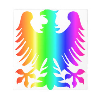 Rainbow Eagle Notepad