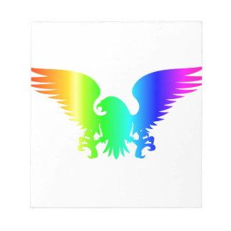 Rainbow Eagle Notepads