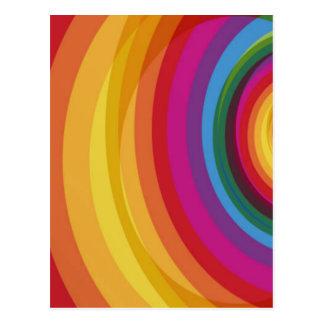Rainbow Eclipse Postcard