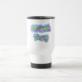 Rainbow Effect 100th Day of School Tshirts Coffee Mugs